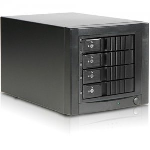 RAIDage 4-bay SAS/SATA 12Gb/s SFF-8644 Trayless Hotswap JBOD Enclosure JAGE3BT4HDBK-DE-SEA