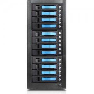 RAIDage 12-bay SAS/SATA 12Gb/s SFF-8644 Hotswap JBOD Enclosure JAGE9BT12HDBL