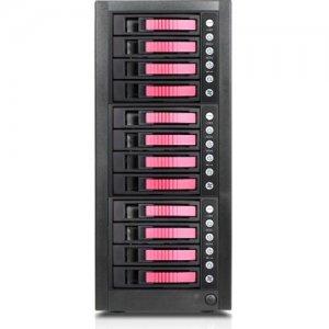RAIDage 12-bay SAS/SATA 12Gb/s SFF-8644 Hotswap JBOD Enclosure JAGE9BT12HDRD