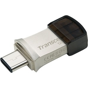 Transcend 128GB JetFlash 890 USB 3.1 (Gen 1) Type A USB Type C On-The-Go Flash Drive TS128GJF890S