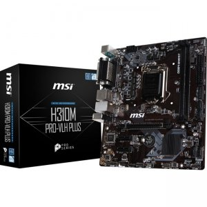 MSI Desktop Motherboard H310MPROVLH H310M PRO-VLH PLUS