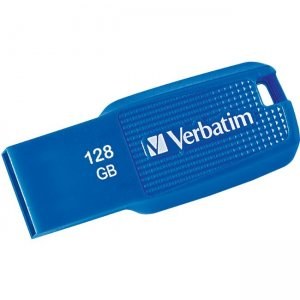 Verbatim 128GB Ergo USB 3.0 Flash Drive - Blue 70880