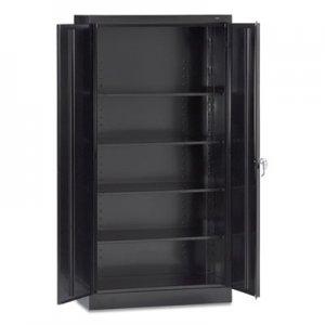 """Tennsco 72"""" High Standard Cabinet (Assembled), 36 x 18 x 72, Black TNN7218BLK 7218-BLK"""