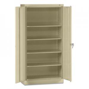 """Tennsco 72"""" High Standard Cabinet (Assembled), 36 x 18 x 72, Putty TNN7218CPY 7218-CPY"""
