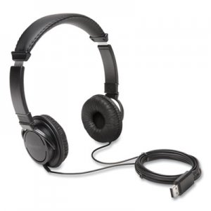 Kensington Hi-Fi Headphones, Black KMWK97600WW K97600WW