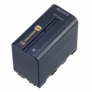 Sony InfoLithium L Series Camcorder Battery Pack NP-F970