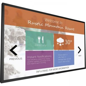 Philips Signage Solutions Multi-Touch Display 75BDL3010T