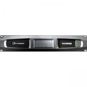 Crown Eight-channel, 600W @ 4 Power Amplifier with BLU link, 70V/100V DCI8X600N-U-USFX 8|600N