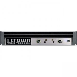 Crown Two-channel, 2500W @ 4 Power Amplifier MA5000IDP-U-USFX 5000i