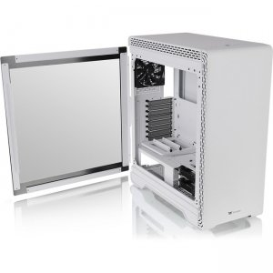 Thermaltake S500 Tempered Glass Snow Edition Mid-Tower Chassis CA-1O3-00M6WN-00 S500 TG Snow