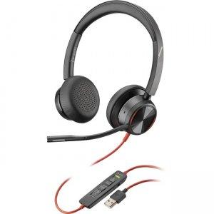 Plantronics Premium Corded UC Headset 214406-01 BW8225