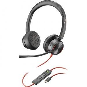 Plantronics Premium Corded UC Headset 214407-01 BW8225