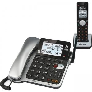 AT&T Corded/Cordless Answering System with Call ID CL84102