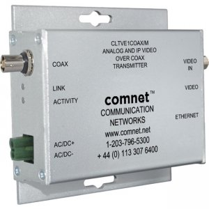 ComNet 2 Channel Analog and IP Video over COAX Receiver CLRVE2COAX