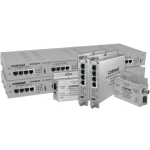 ComNet 1 Port EOC Ethernet Extender, Local, Small Size, Coax CLLFE1POEC