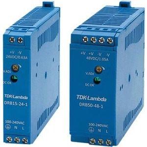 Allied Telesis DRB Series Single Output Industrial DIN Rail Power Supply AT-DRB15-24-1 DRB15