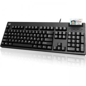 Adesso TAA Compliant Smart Card Reader Keyboard AKB-630SB-TAA
