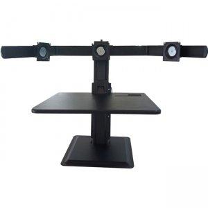 Lorell Deluxe Light-Touch 3-Monitor Desk Riser 03167 LLR03167