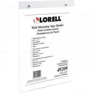 Lorell Wall-Mounted Sign Holder 49209 LLR49209
