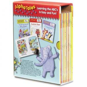 Scholastic S.T.Resources Pre-K AlphaTales Book Set 0545067645 SHS0545067645