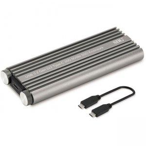 SIIG USB 3.2 Gen 2x2 Type-C 20G NVMe SSD Enclosure JU-SA0X11-S1