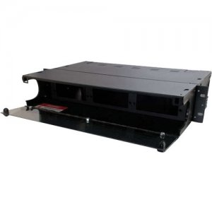Quiktron 2u 6-Panel Rackmount Fiber Optic Enclosure (TAA Compliant) 39102