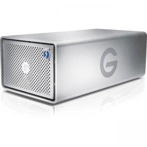 G-Technology G-RAID Removable Thunderbolt 3 8000GB Silver NA 0G05748-1 GRARTH3NB80002BDB