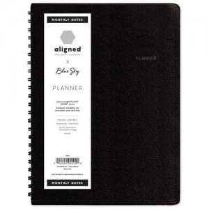 Blue Sky Aligned Weekly/Monthly Notes Planner 123852 BLS123852