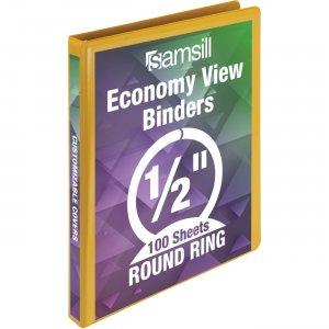 Samsill Economy Round Ring View Binder 18515 SAM18515