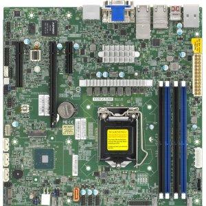 Supermicro Desktop Motherboard MBD-X12SCZ-TLN4F-B X12SCZ-TLN4F