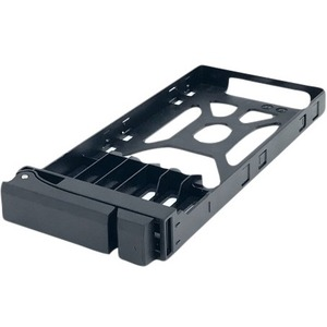 "QNAP SSD Tray for 2.5"" Drives without Key Lock, Black, Plastic , Tooless TRAY-25-NK-BLK05"