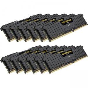 Corsair Vengeance LPX 192GB (12 x 16GB) DDR4 DRAM 4000MHz C19 Memory Kit - Black CMK192GX4M12P4000C19