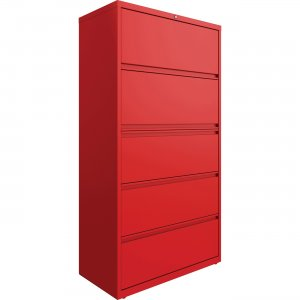 Lorell 4-drawer Lateral File with Binder Shelf 03120 LLR03120