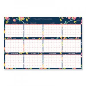 Blue Sky Day Designer Laminated Wall Calendar, 36 x 24, 2021 BLS103632
