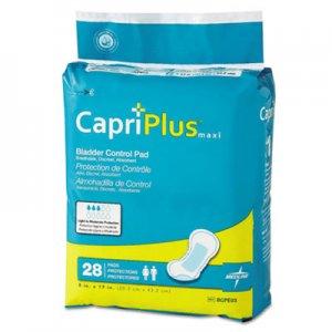 "Medline Capri Plus Bladder Control Pads, Ultra Plus, 8"" x 17"", 28/Pack MIIBCPE03 BCPE03"