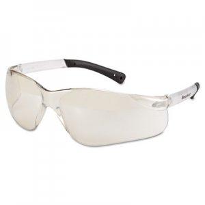 MCR Safety BearKat Safety Glasses, Frost Frame, Clear Mirror Lens CRWBK119 BK119