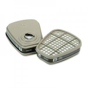 3M Respirator Cartridge for Certain Organic Vapors, 2/Pack MMM6001 70070316776