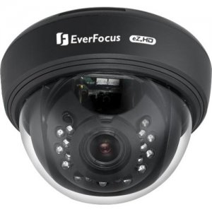 EverFocus 720p Analog HD True Day/Night Indoor Dome Camera ED910W ED910