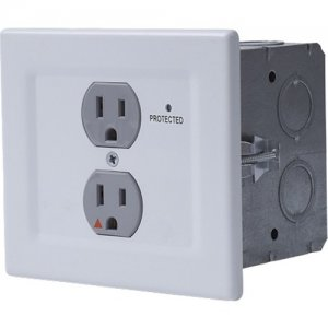 Chief Power Filtering & Surge Protection Wall Outlet EGX-SF2