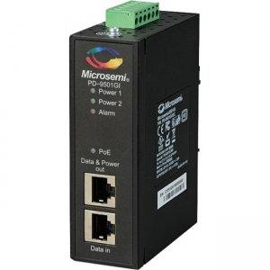 Microsemi 1-port 60W Industrial PoE Injector PD-9501GI/DCF PD-9501GI