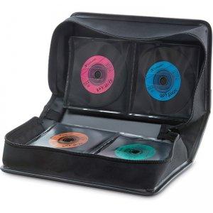 Verbatim CD/DVD Storage Wallet 128 ct. Black 70106 VER70106