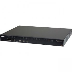 Aten 48-Port Serial Console Server with Dual Power/LAN SN0148CO