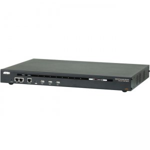 Aten 8-Port Serial Console Server with Dual Power/LAN SN0108CO