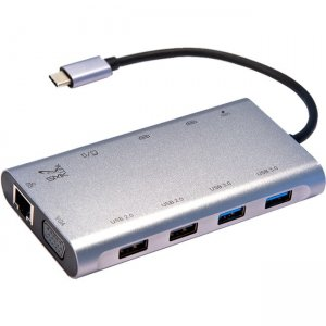 SMK-Link USB-C 100W Mini Docking Station with Multi-Stream Triple Video VP6950