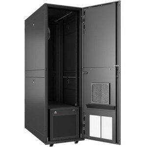 VERTIV VRC-S, Enclosed Rack Integrated with 3.5kW of Cooling and Power Distribution VRCS3300-208V