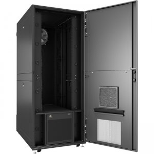 VERTIV VRC-S, Enclosed Rack Integrated with 3.5kW of Cooling and Power Distribution VRCS3350-120V