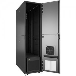 VERTIV VRC-S, Enclosed Rack Integrated with 3.5kW of Cooling and Power Distribution VRCS3307-208V