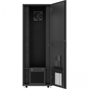 VERTIV VRC-S, Enclosed Rack Integrated with 3.5kW of Cooling and Power Distribution VRCS3357-120V