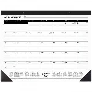 At-A-Glance Classic Monthly Desk Pad SK240021 AAGSK240021
