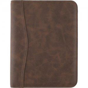 At-A-Glance Brown Zipcase Desk Binder Starter Set 031014004 AAG031014004